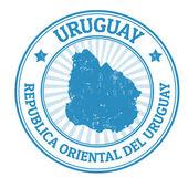 Fotografia timbro di Uruguay