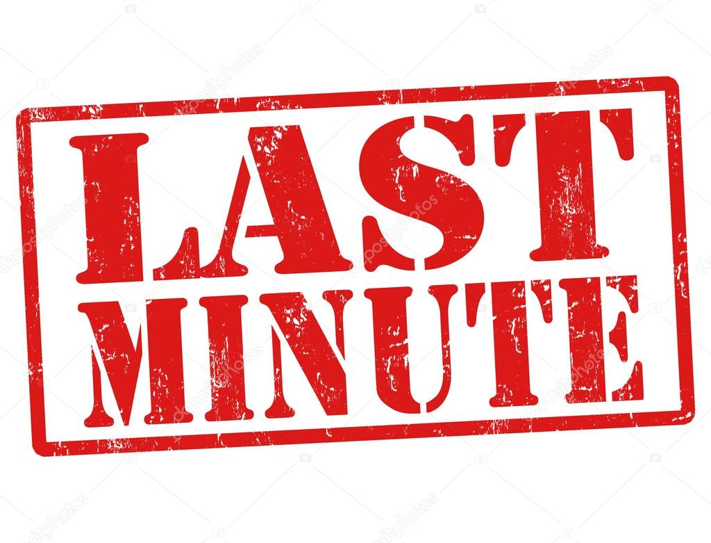 last minute Definition of last-minute - done or occurring at the latest possible time before an event.