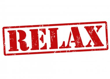 Relax stamp