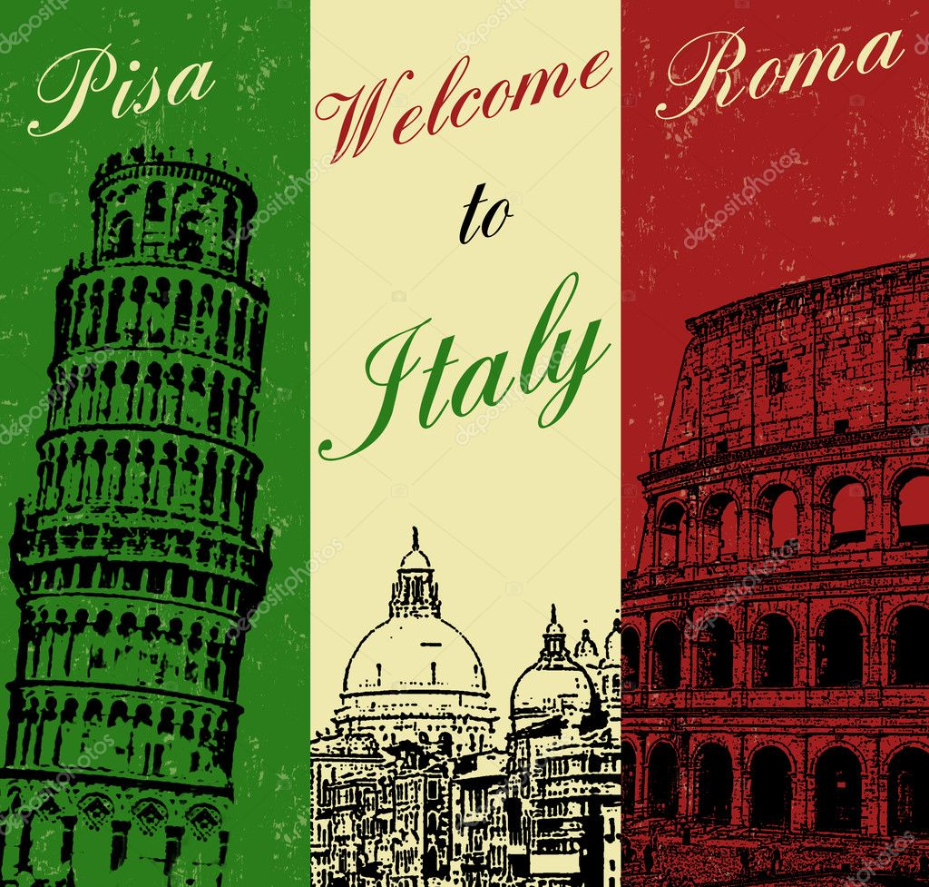how to say welcome in italy