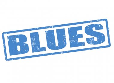 Blues stamp