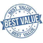 Fotografie Best value stamp