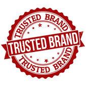 Fotografia timbro del marchio attendibile