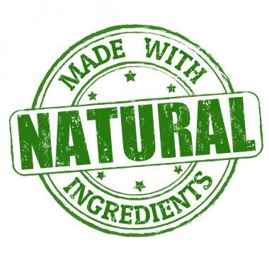 "Картина, постер, плакат, фотообои ""с натуральными ингредиентами штамп"", артикул 37993821"