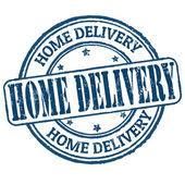 Fotografia timbro di consegna a domicilio