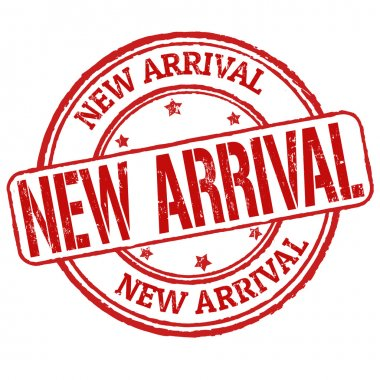 New Arrival stamp