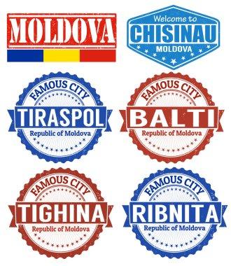Moldova stamps