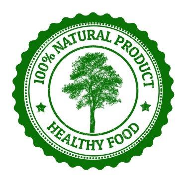 100 Percent Natural Product stamp