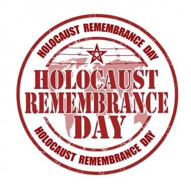 Holocaust remembrance day stamp