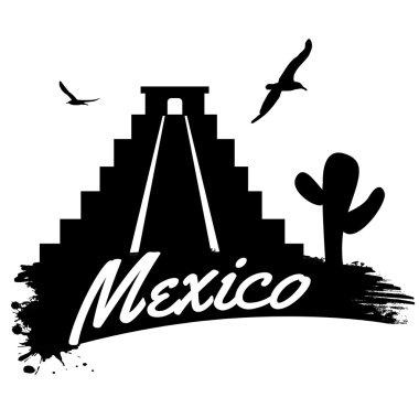 Mexico retro poster