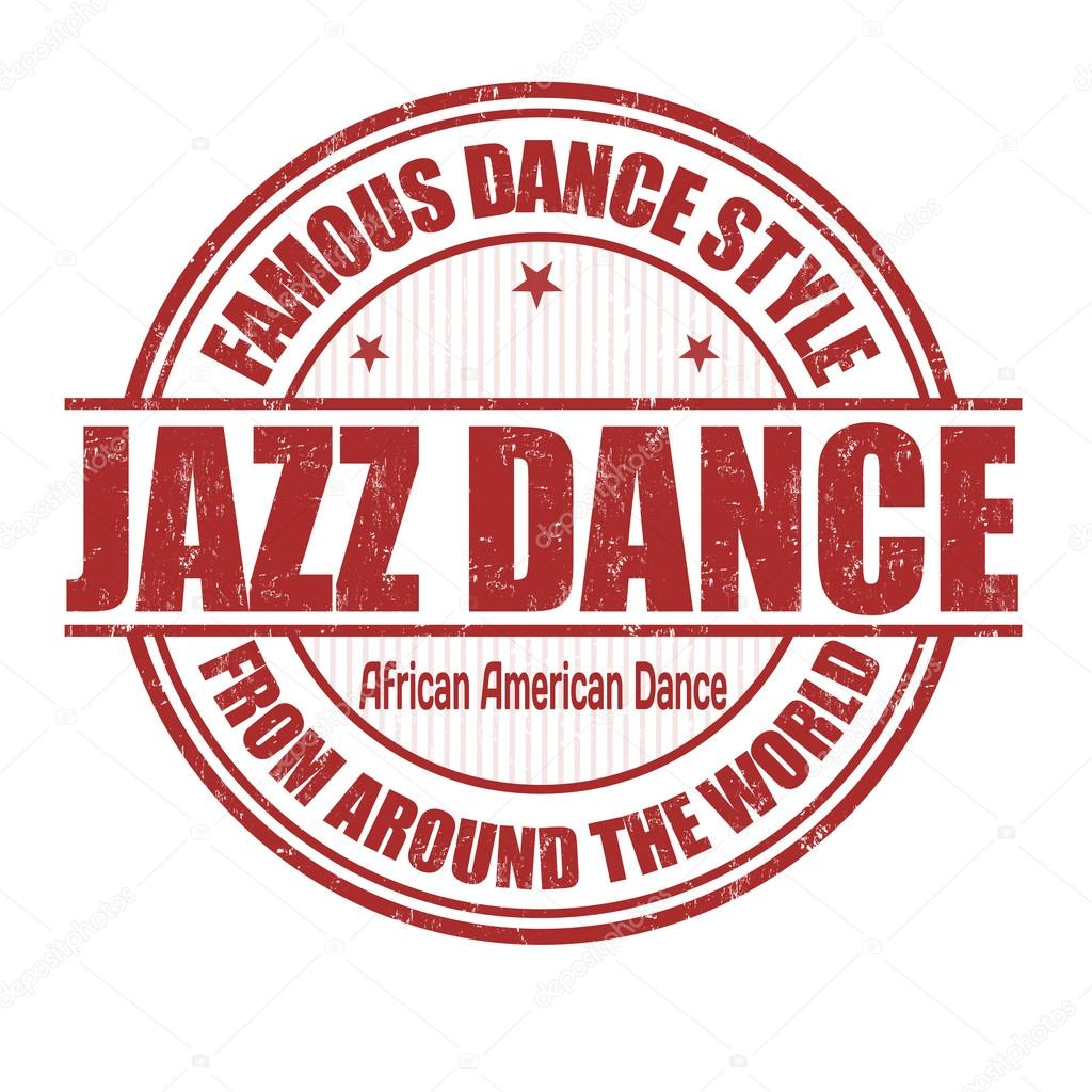Jazz dance stamp