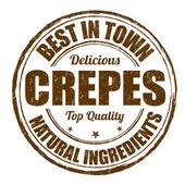 Fotografie Best in Town-Crepes-Briefmarke