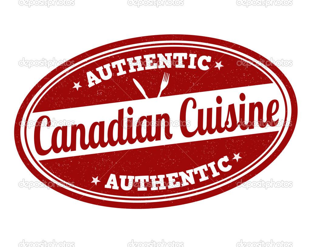 Kanadische Küche | Kanadische Kuche Stempel Stockvektor C Roxanabalint 49748045