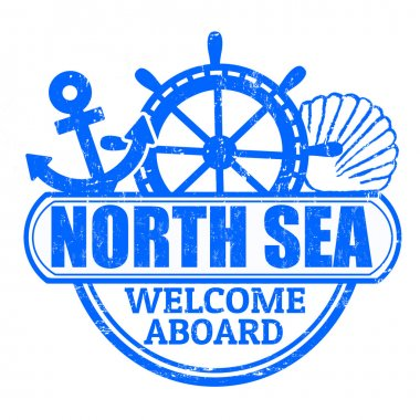 North Sea stamp