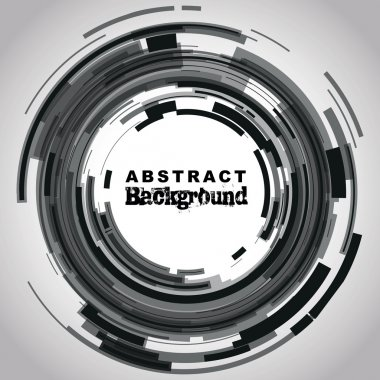 Abstract camera lens background stock vector