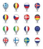 Evropská vlajka ukazatele