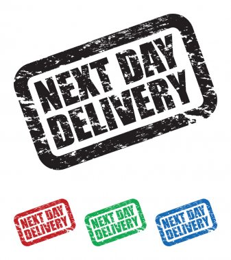 Set of next day delivery stamps