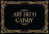 Gatsby art deco pozadí