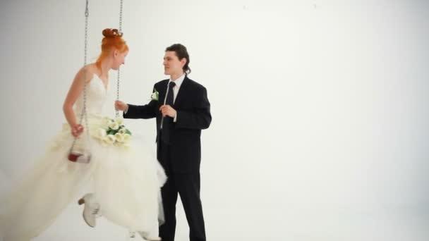 Menyasszony túrák a hinta