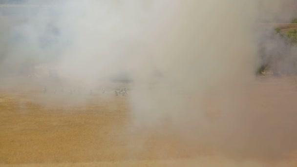 výbuchy na bojišti