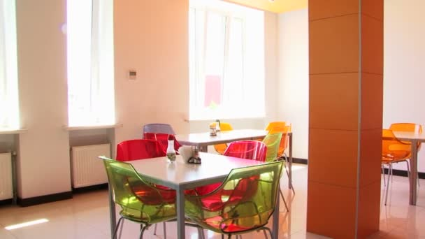 Interior of a modern coffee-room. Coffee-room.