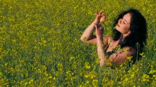 Woman in Field