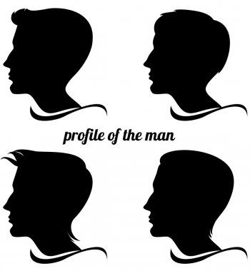 Profile of the man