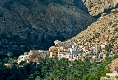 A mountain village , sultanate Oman
