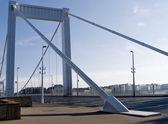 Photo Elizabeth Bridge across the Danube river in Budapest
