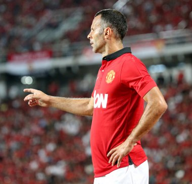 Ryan Giggs of Man Utd.