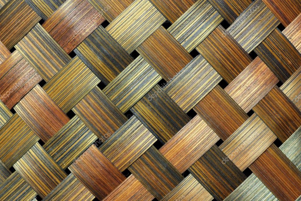 Bamboo handcraft texture