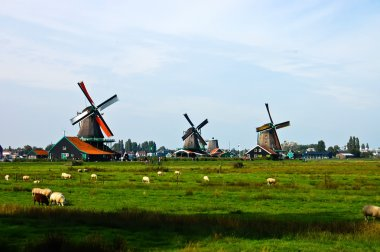 Dutch windmills of The Netherlands