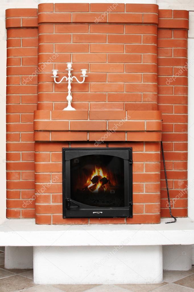 Ladrillos chimenea fotos de stock ronstik 37909809 - Ladrillos para chimeneas ...