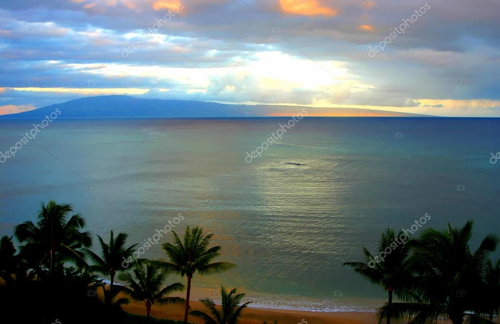 Fantasy Maui Sunset
