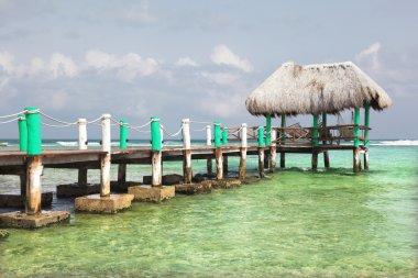 Caribbean bungalow at Riviera Maya, Mexico