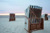 cabine sulla spiaggia