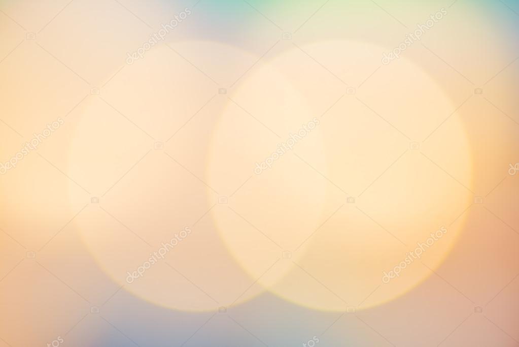 Blurry background circles