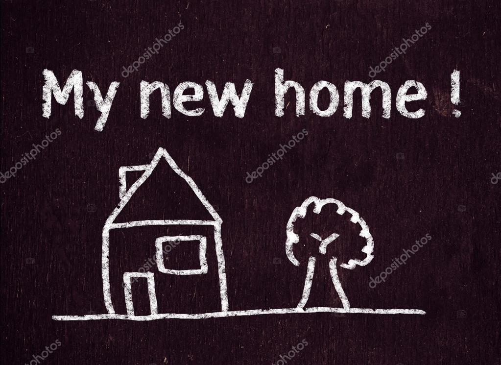 Mein neues Zuhause — Stockfoto © roobcio #38524935