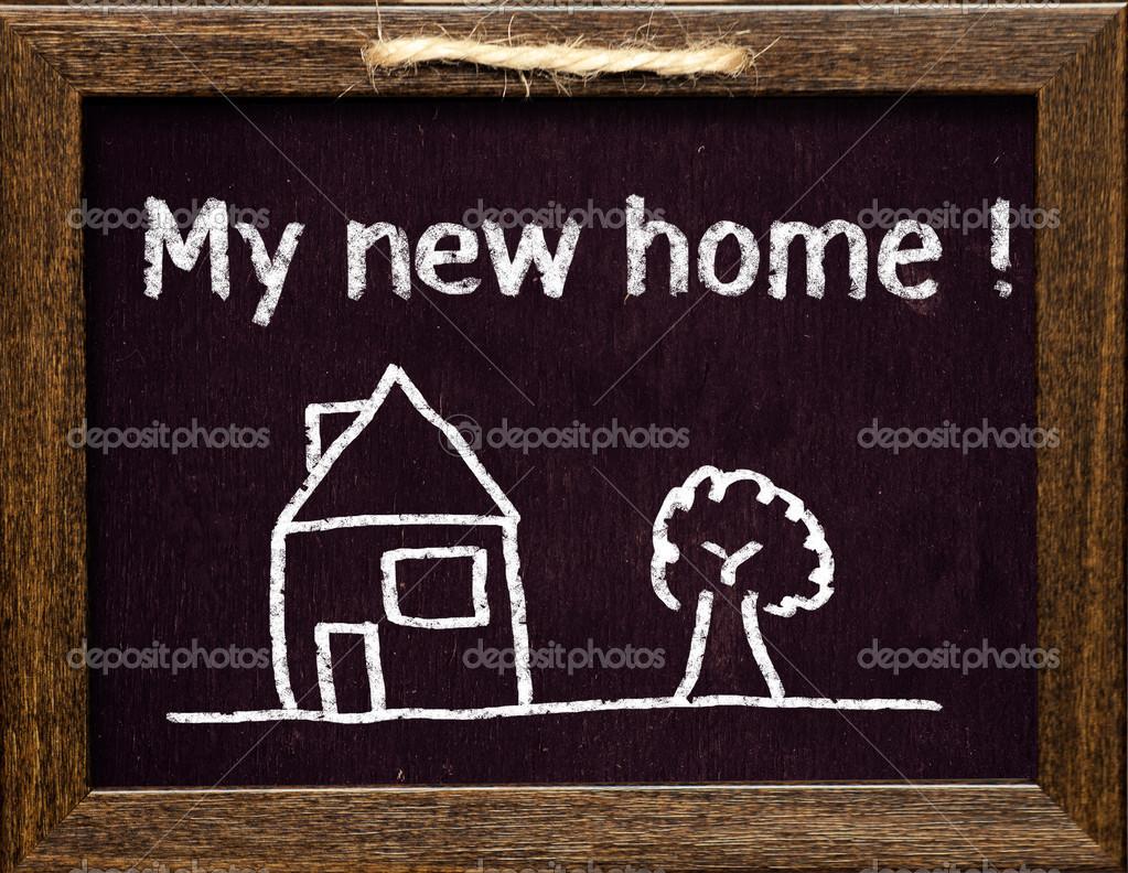 Mein neues Zuhause — Stockfoto © roobcio #38628991