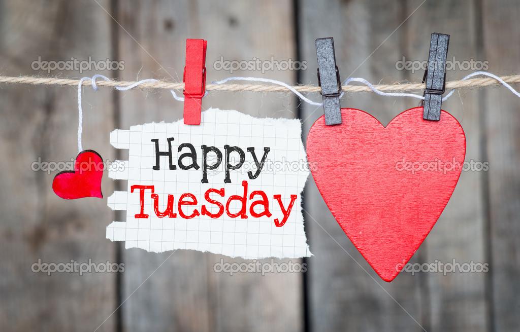 Happy Tuesday — Stock Photo © roobcio #44196451