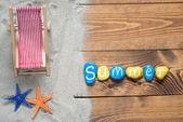 Photo Summer text