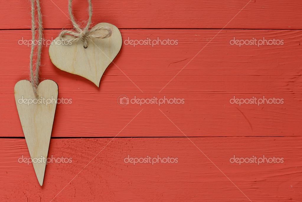 Wooden Heart frame — Stock Photo © roobcio #50715101