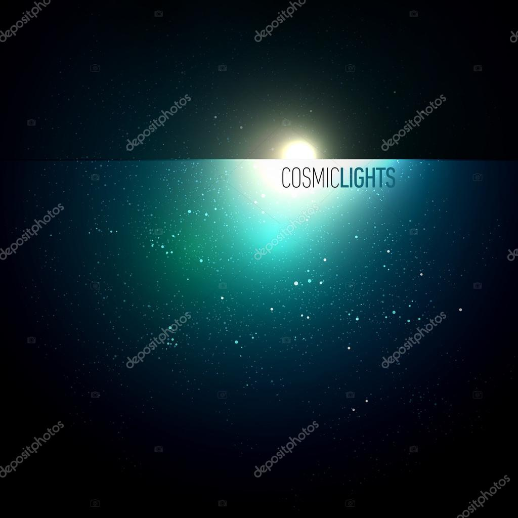 Cosmic Lights | EPS10 Vector Background Series