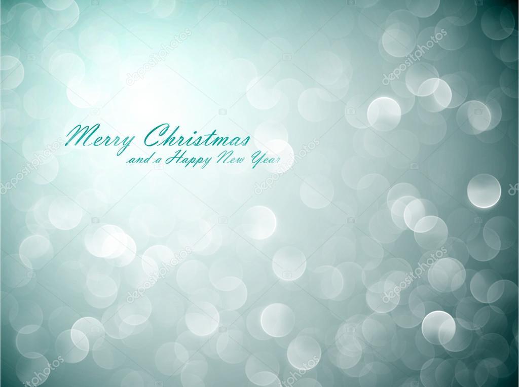 Flickering Lights - Christmas Background