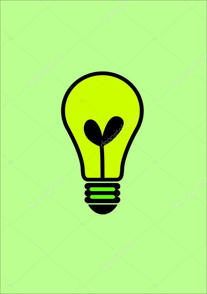 icon glühbirne — Stockfoto © porjai #30808233