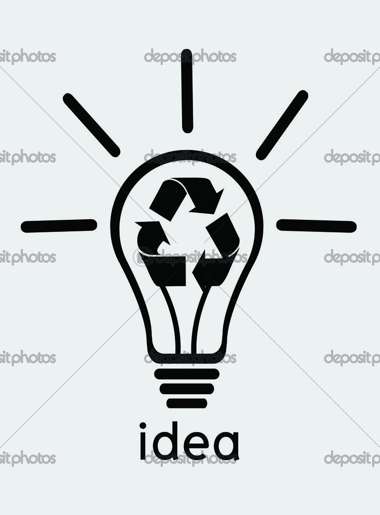 icon glühbirne — Stockfoto © porjai #30808631