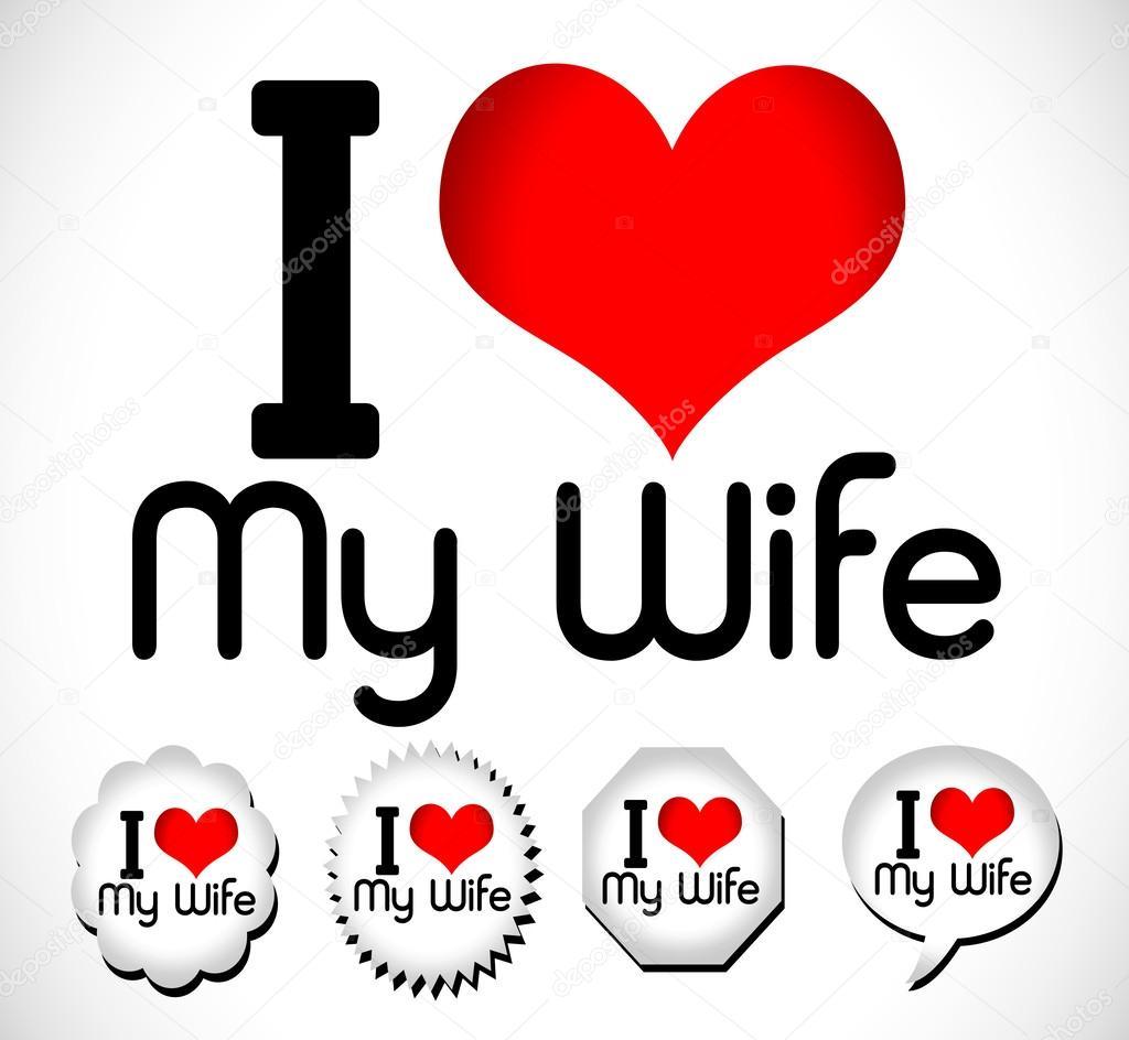 ik hou van mijn vrouw