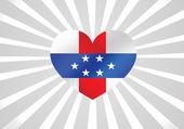Nizozemské Antily flag motivy ideový návrh