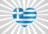 Státní vlajka Řecko motivů myšlenka designu