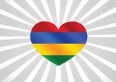 Vlajka Mauricia motivy ideový návrh